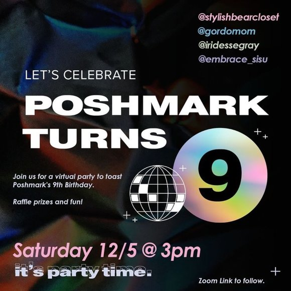 Poshmark Turns 9! Join us to celebrate Virtually!